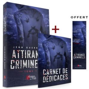 Pack_Attirance_Criminelle_Tome_1-Carnet_de_dedicaces-Jenn_Guerrieri-Plumes_du_Web-Broche