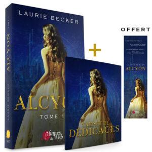 Pack_Alcyon_Tome_1-Carnet_de_dedicaces-Laurie_Becker-Plumes_du_Web-Broche