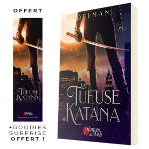 Couverture_La_Tueuse_Au_Katana-Delman-Plumes_du_Web-Broche