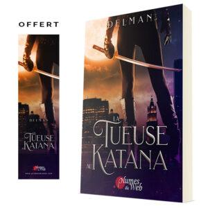 Couverture_La_Tueuse_Au_Katana-Delman-Plumes_du_Web-Broche_v2