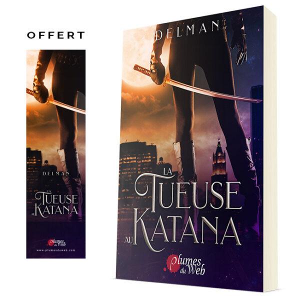 """<span class=""""titre"""">La Tueuse au Katana</span> - <span class=""""auteur"""">Delman</span> - <span class=""""type_produit"""">Broché</span> 2"""