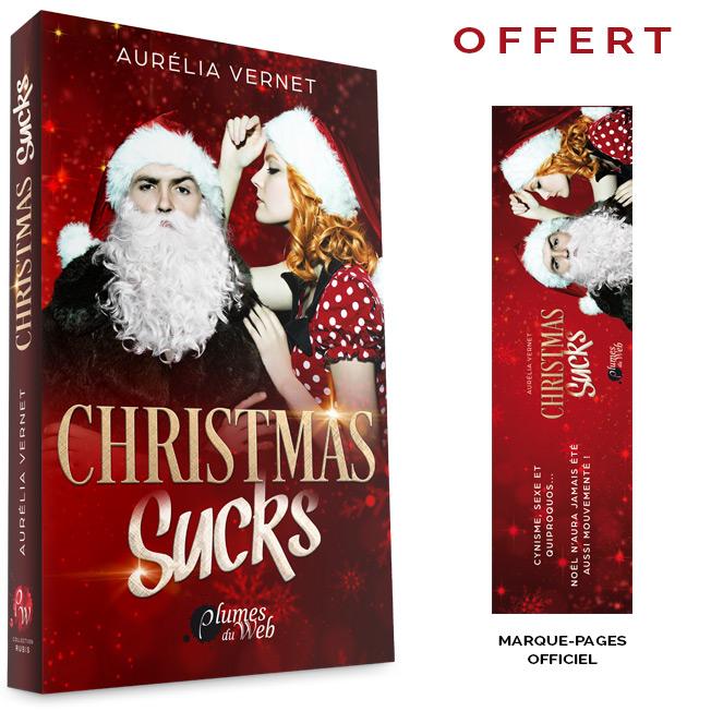 <span class='titre'>Christmas Sucks</span> - <span class='auteur'>Aurélia Vernet</span> - <span class='type_produit'>Broché</span> 1