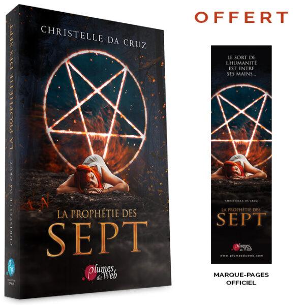 """<span class=""""titre"""">La Prophétie des Sept</span> - <span class=""""auteur"""">Christelle da Cruz</span> - <span class=""""type_produit"""">Broché</span> 2"""