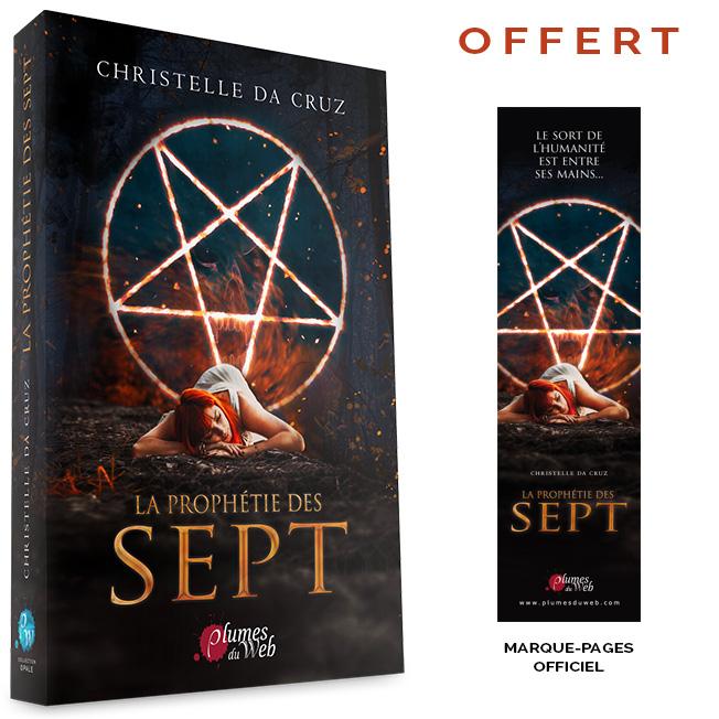 <span class='titre'>La Prophétie des Sept</span> - <span class='auteur'>Christelle da Cruz</span> - <span class='type_produit'>Broché</span> 1
