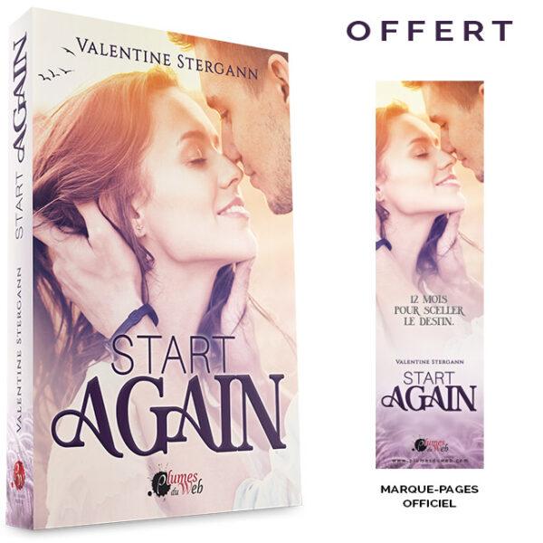 "<span class=""titre"">Start Again</span> - <span class=""auteur"">Valentine Stergann</span> - <span class=""type_produit"">Broché</span> 2"