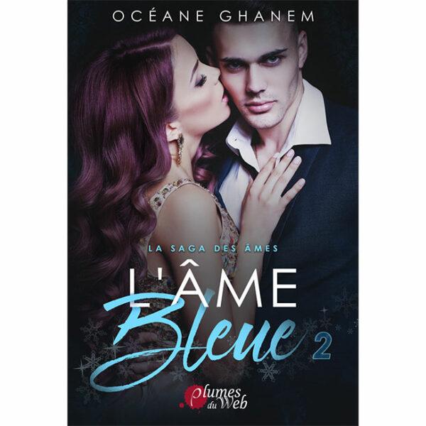 """<span class=""""titre"""">La Saga des Âmes : L'Âme Bleue</span> - <span class=""""sous_titre"""">Tome 2</span> - <span class=""""auteur"""">Océane Ghanem</span> - <span class=""""type_produit"""">E-book</span> 2"""