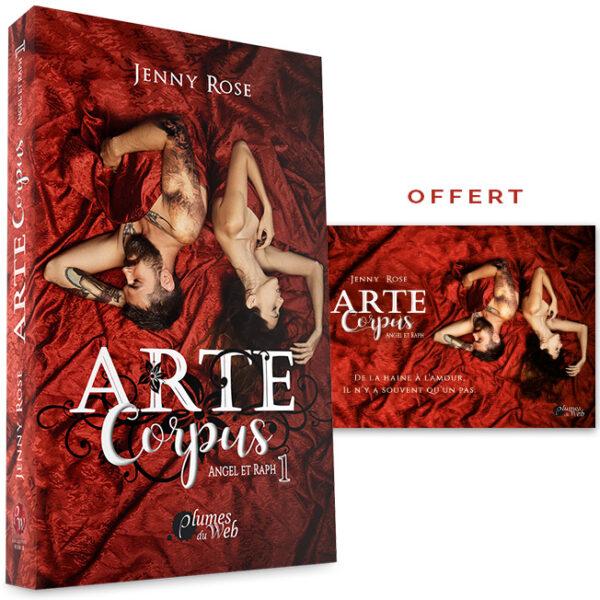 <span class='titre'>Arte Corpus</span> - <span class='sous_titre'>Angel et Raph - Tome 1</span> - <span class='auteur'>Jenny Rose</span> - <span class='type_produit'>Broché</span> 2