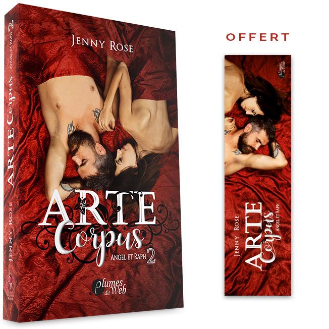 <span class='titre'>Arte Corpus : Angel et Raph</span> - <span class='sous_titre'>Tome 2</span> - <span class='auteur'>Jenny Rose</span> - <span class='type_produit'>Broché</span> 1