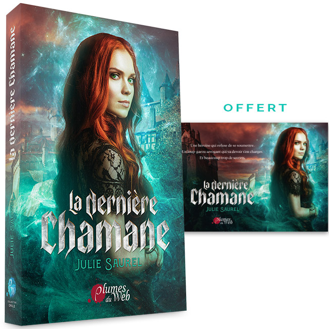 <span class='titre'>La Dernière Chamane</span> - <span class='auteur'>Julie Saurel</span> - <span class='type_produit'>Broché</span> 1