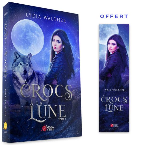 <span class='titre'>À Crocs à la Lune</span> - <span class='sous_titre'>Tome 1</span> - <span class='auteur'>Lydia Walther</span> - <span class='type_produit'>Broché</span> 2