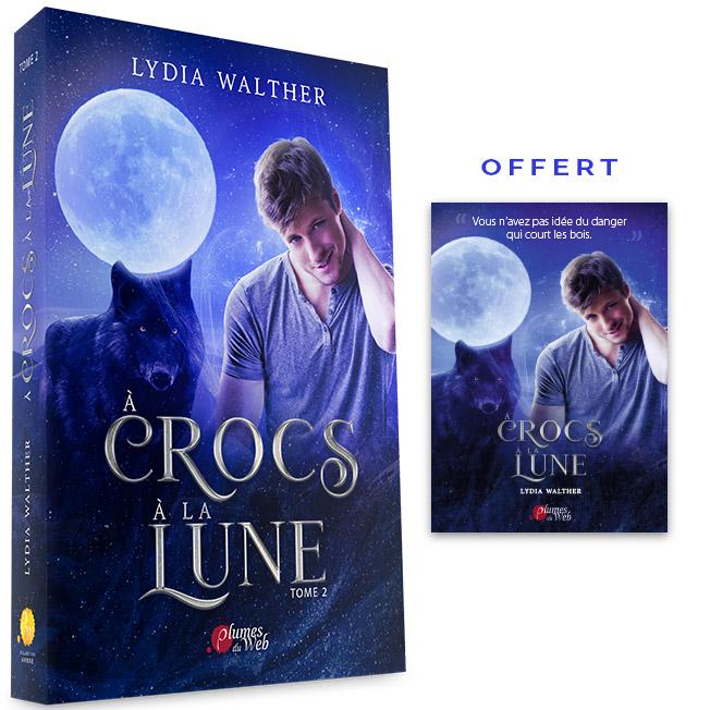 <span class='titre'>À Crocs à la Lune</span> - <span class='sous_titre'>Tome 2</span> - <span class='auteur'>Lydia Walther</span> - <span class='type_produit'>Broché</span> 1