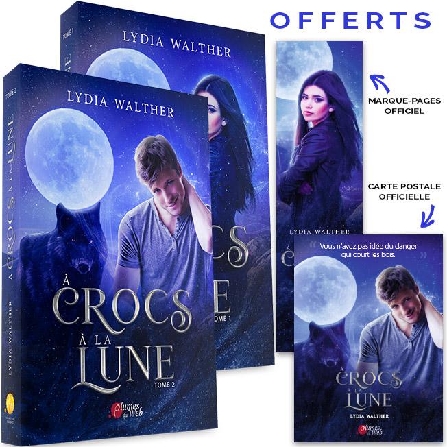 <span class='titre'>À Crocs à la Lune</span> - <span class='sous_titre'>Pack Tomes 1 & 2</span> - <span class='auteur'>Lydia Walther</span> - <span class='type_produit'>Broché</span> 1